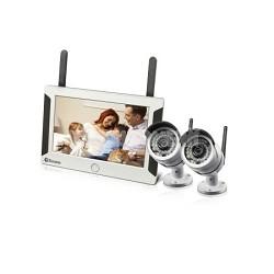 "7"" Wireless NVR with 2x 720p Camera"