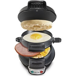 Breakfast Sandwich Maker - Black (25477)