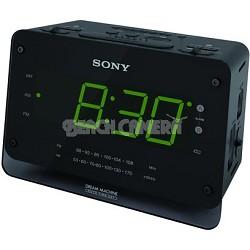 "ICF-C414 Clock Radio with 1.4"" LED Display"