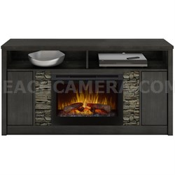 Electric Fireplace - Caroline (logs) Anthracite