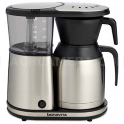 8-Cup Coffee Brewer with Stainless Steel Lined Thermal Carafe - OPEN BOX