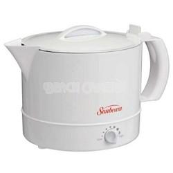 32 Ounce Hot Pot Express - White