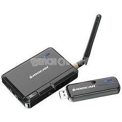 Wireless USB KIT - 4-Port Hub and Adapter