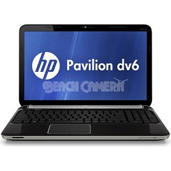 "Pavilion 15.6"" DV6-6110US Entertainment Notebook PC - AMD Quad-Core A6-3400M"