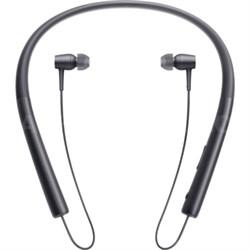 MDR-EX750 h.Ear in Wireless In-ear Bluetooth Headphones w/ NFC - Charcoal Black