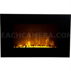 Oslo Wall-Mounted LED Fireplace with Color-Changing Flame Effect - OWF-10707