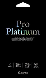 "Photo Paper Pro Platinum 4"" X 6"" - 50 Sheets"