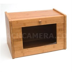 Bamboo Bread Box with Window