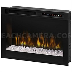 """26"""" Glass Ember Bed Electric Fireplace - XHD26G"""
