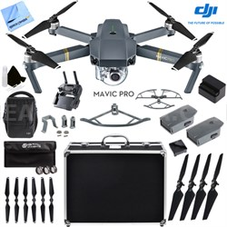 Mavic Pro 4K Camera Quadcopter Drone Fly More Combo 2 More Batteries Ultra Kit