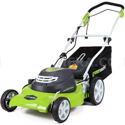 12 Amp 20-inch 3-in-1 Corded Lawn Mower (25022)
