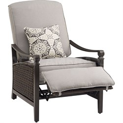 Carson Recliner in Pewter - CARSON-PEW
