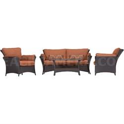 Strathmere Allure 4-Piece Lounge Set - STRATHALLURE4PC-PLW