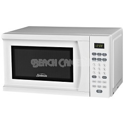 SGS90701B .7 Cubic Feet Microwave Oven 700 Watts White Open Box