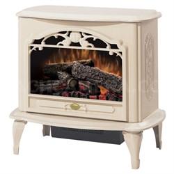 Celeste Electric Stove-Style Fireplace - Cream