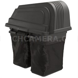 """Soft-Sided 2-Bin Grass Bagger for Poulan Pro 46"""" Riding Mowers - OPEN BOX"""