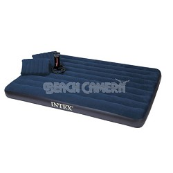 Downy Queen Airbed with 2 Pillows and Double Quick Hand Pump