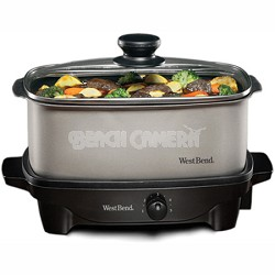84905 - 5-Quart Oblong-Shaped Slow Cooker