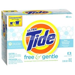 Ultra Free & Gentle Scent Powder Laundry Detergent 40 Loads 56 oz.