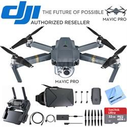 Mavic Pro 4K Quadcopter Drone + Virtual Reality Experience Bundle