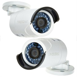 2-Pack Indoor/Outdoor 3 MP 1080p PoE IP Day/Night Network Camera (TV-IP310PI)