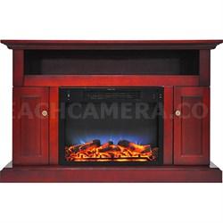 47.2 x15.7 x30.7  Sorrento Fireplace Mantel with LED Insert