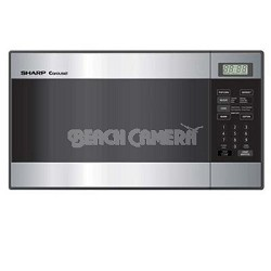 Carousel Compact Stainless Steel Microwave