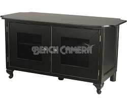 """BFV348 - A/V Stand for TVs up to 50"""" - Distressed Black Finish"""