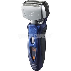 Men's 4-Blade (Arc 4) Wet/Dry Rechargeable Blue Electric Shaver