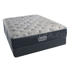 BeautyRest Recharge ~ Silver - Carter Bay Luxury Firm Mattress - Queen