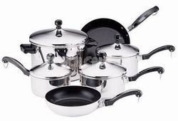 Classic 10-pc Stainless Cookware Set