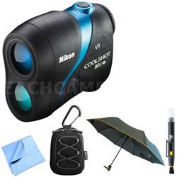 16205 COOLSHOT 80i VR Golf Laser Rangefinder with Accessories Bundle