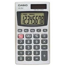 Casio Pocket Calculator
