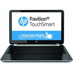"Pavilion TouchSmart 15.6"" 15-n260us Notebook - AMD Elite Quad-Core A8-5545M Proc"