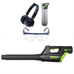 80V Pro 500CFM Cordless Leaf Blower w/ Safety Bundle