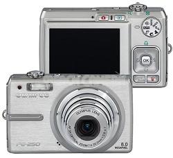 FE-250 (Silver) Digital Camera - REFURBISHED