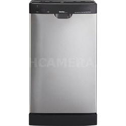 Designer 8 Place Setting Dishwasher in Black/Stainless Steel - DDW1802EBLS