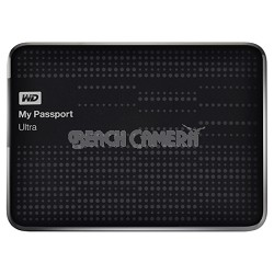 My Passport Ultra 2 TB USB 3.0 Portable Hard Drive - WDBMWV0020BBK-NESN (Black)