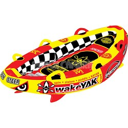 Wake Yak Solo Towable Single Rider Water Tube