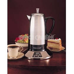 12 CUP CORDLESS PROGRAMMABLE PERCOLATOR - FCP512S