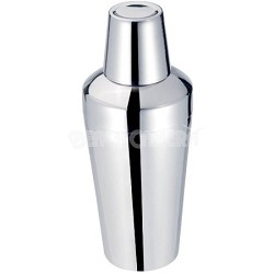 25 Oz/750 ML Stainless Steel Sleek Cocktail Shaker