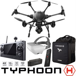 Typhoon H RTF Hexacopter Drone Wizard Wand SkyView Battery Backpack Pro Bundle