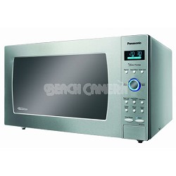 1.6 cu. ft - Microwave oven 1250 W - Stainless Steel - OPEN BOX