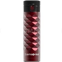 Stainless Steel 16 oz. Travel Mug Diamond Series - Red