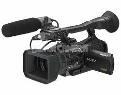 HVR-V1U HDV Digital HD Camcorder with 1080/24P Scanning