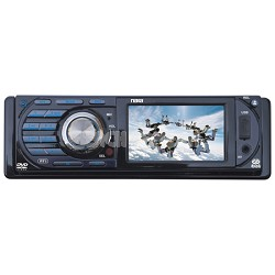3-Inch LCD Display Full Fold Down Detachable PLL Electronic Tuning Stereo AM/FM