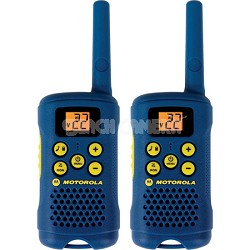 MG160A 16-Mile Range 22-Channel FRS/GMRS Pair of Two-Way Radio - Light Blue