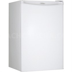 4.4 Cu. Ft. Compact Refrigerator in White - DAR044A4WDD