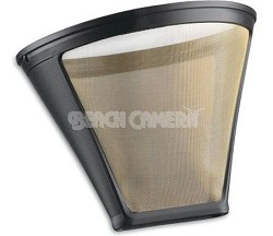 GTF-4 Gold Tone Filter for Cuisinart 4-cup Coffeemakers, Gold/Black