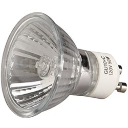 50-Watt Halogen Light Bulb - GU10